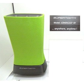 Mobidick SuperTooth DISCO 2 Bluetooth стереосистема (зеленая)